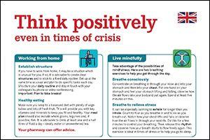"Informations-Poster ""Positiv denken"" Englisch (PDF)"