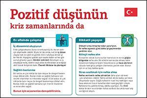 "Informations-Poster ""Positiv denken"" Türkisch (PDF)"